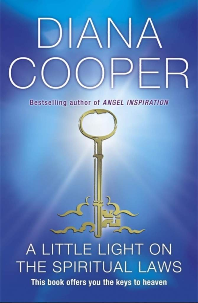 Foliogem Book for today: A Little Light on the Spiritual Laws by Diana Cooper