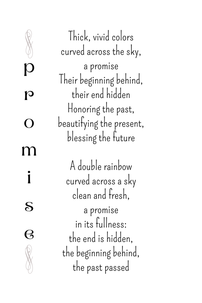 Promise, a poem by Michele Damstra